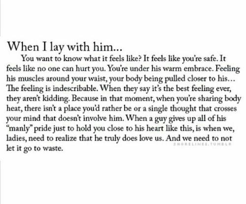 When I Lay With Him Quotes Boyfriend Quotes Words