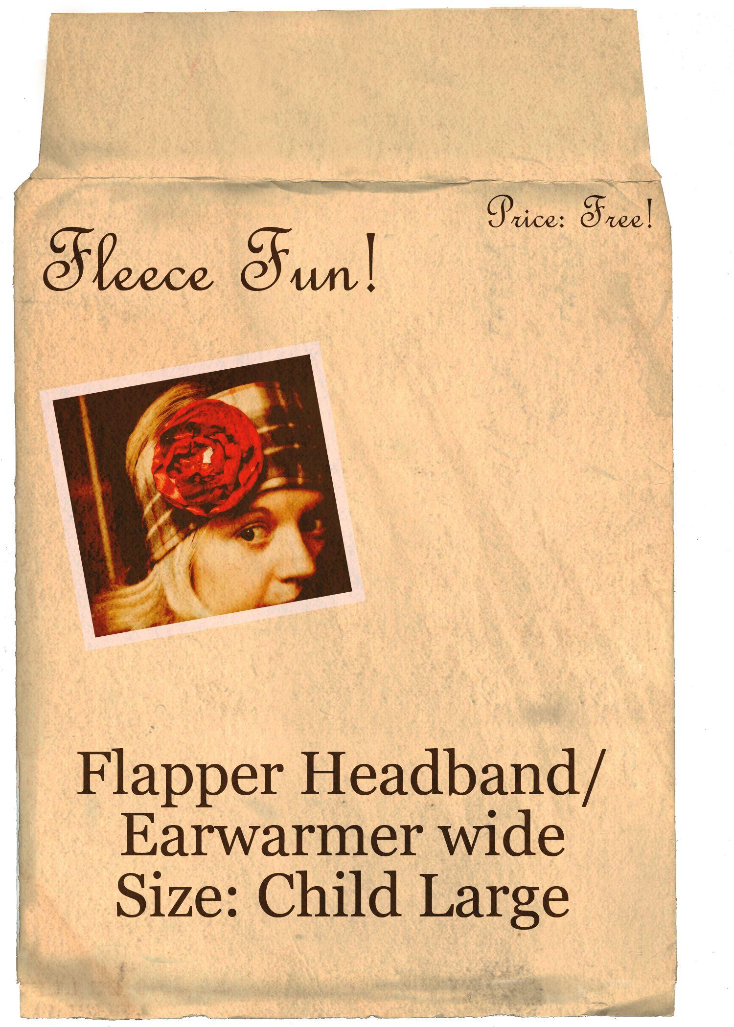 Fleece Headband Pattern Ear Warmer Free Pattern And