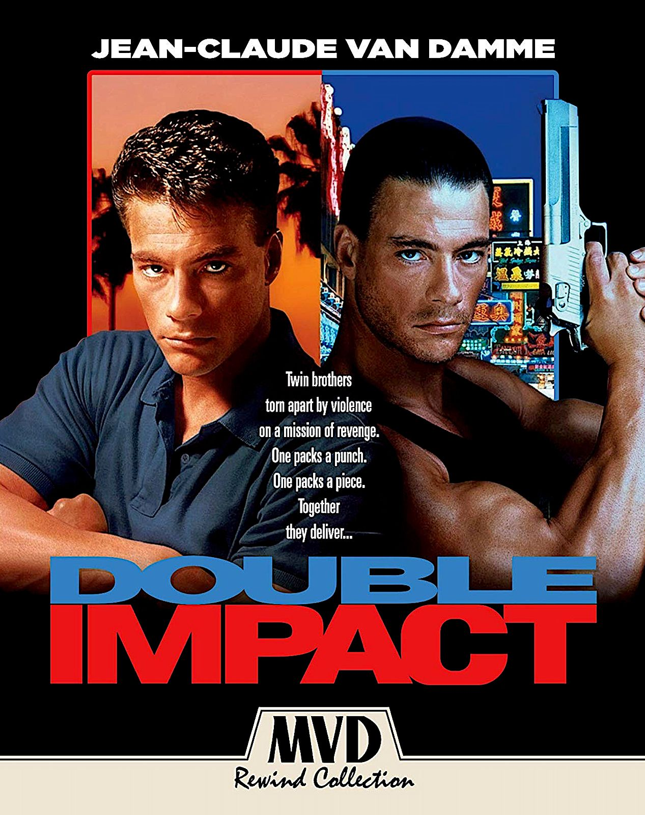 DOUBLE IMPACT COLLECTOR'S EDITION BLURAY (MVD REWIND