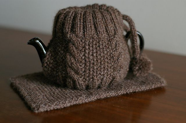 This cute cozy was inspired by a teapot cozy I saw at Chapters- Indigo Bookstore.