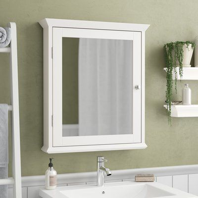 Charlton Home Lance 22 X 25 Surface Mount Medicine Cabinet Surface Mount Medicine Cabinet Surface Mount Medicine Cabinets