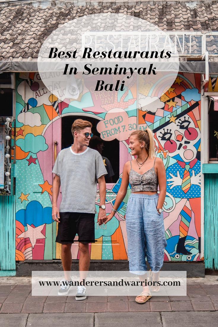 Sea Circus Seminyak Bali - Best Restaurants In Bali Food - Best Restaurants In Seminyak - Wanderers & Warriors Pinterest - Charlie & Lauren UK Travel Couple