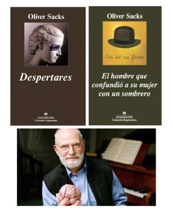 A nosa homenaxe a Oliver Sacks, o afamado neurólogo e escritor británico, finado recentemente, con dúas das súas obras máis destacadas, e que podedes atopar nas nosas bibliotecas: http://elpais.com/elpais/2015/08/31/opinion/1441020791_578106.html
