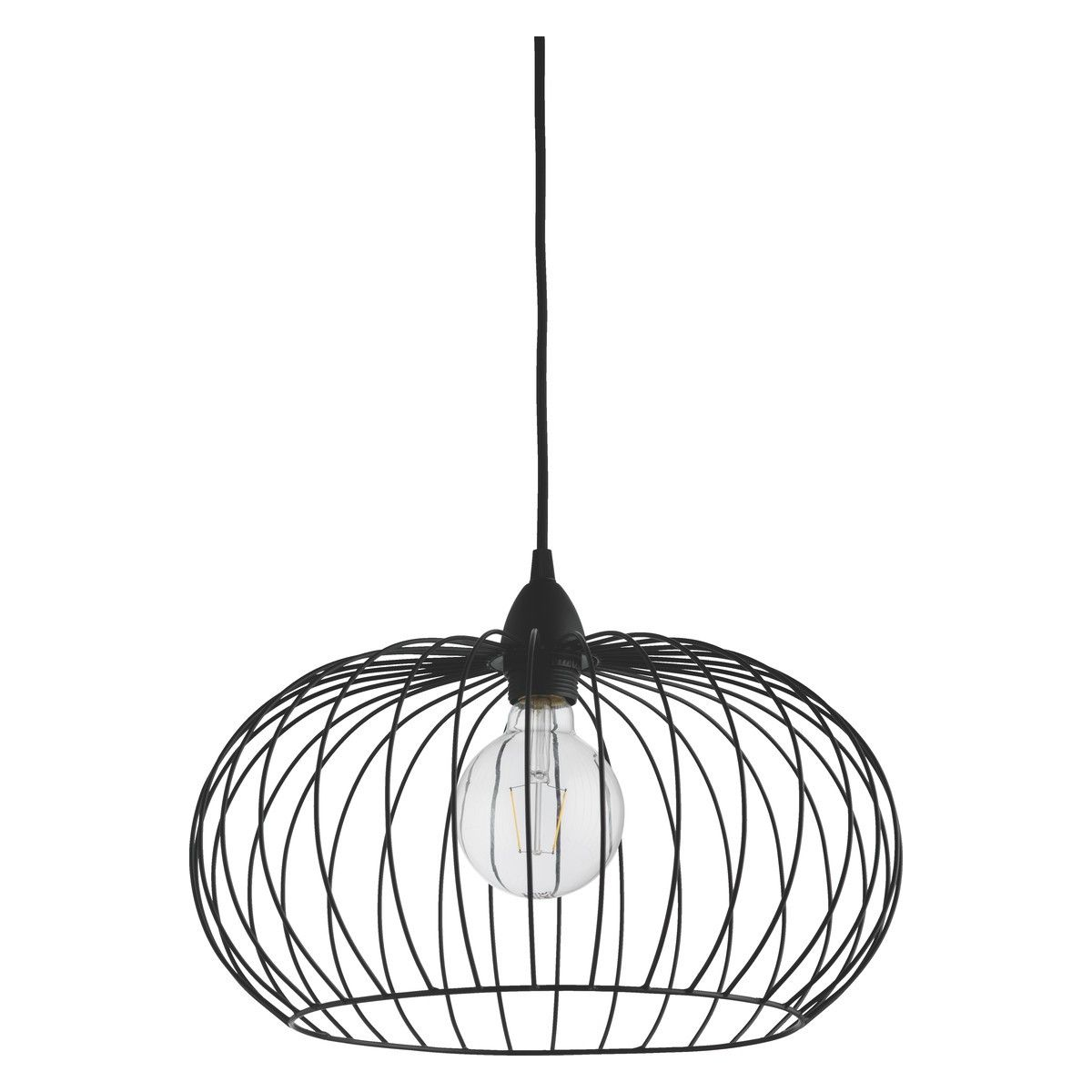 Esme Black Metal Easy To Fit Ceiling Shade Project C Amp D