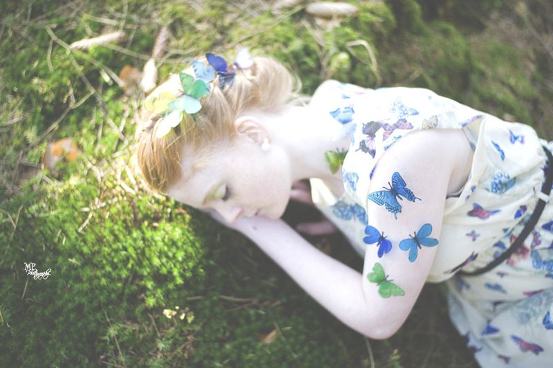 """Butterfly Sleep""  www.miriampeuserpotography.de"