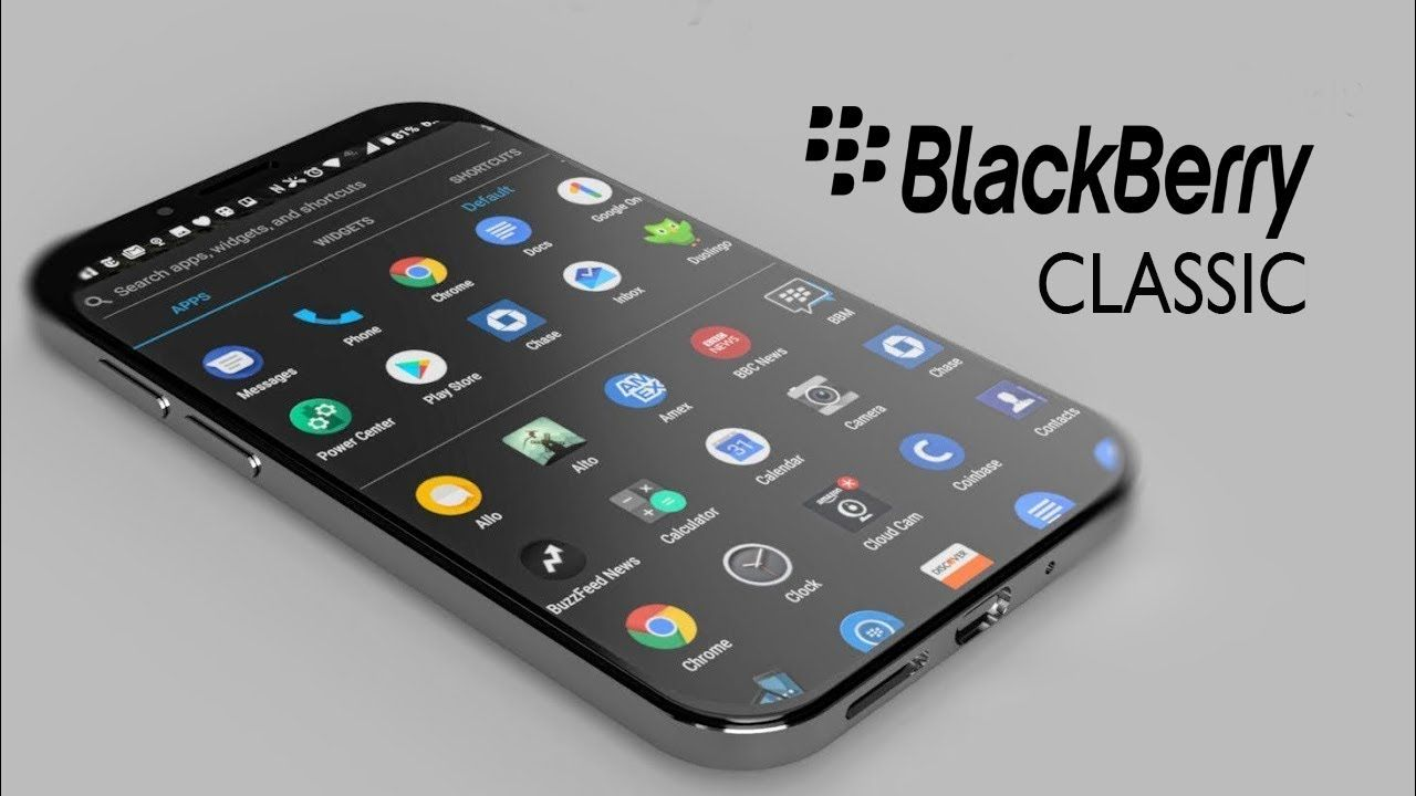 New Blackberry Classic is Here 2018 - Specifications, Price