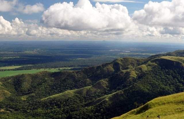 Parque Nacional Da Chapada Dos Guimaraes Mato Grosso Brasil