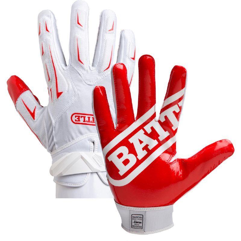 Battle Youth Hybrid Football Receiver Gloves In 2020 Football Receiver Gloves Football Gloves Youth Baseball Gloves