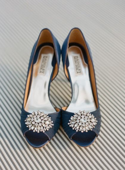 Gorgeous Something Blue Wedding Shoes At Maggie Sottero Real
