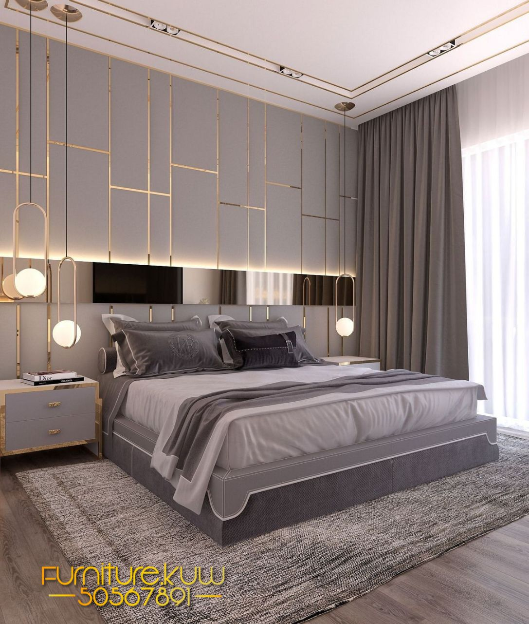 Pin By Furniture مفروشات On ستاير In 2020 Simple Bedroom Design Luxury Bedroom Master Modern Style Bedroom