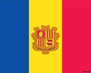andorra flag ppt is a flag background with andorra flag that you can