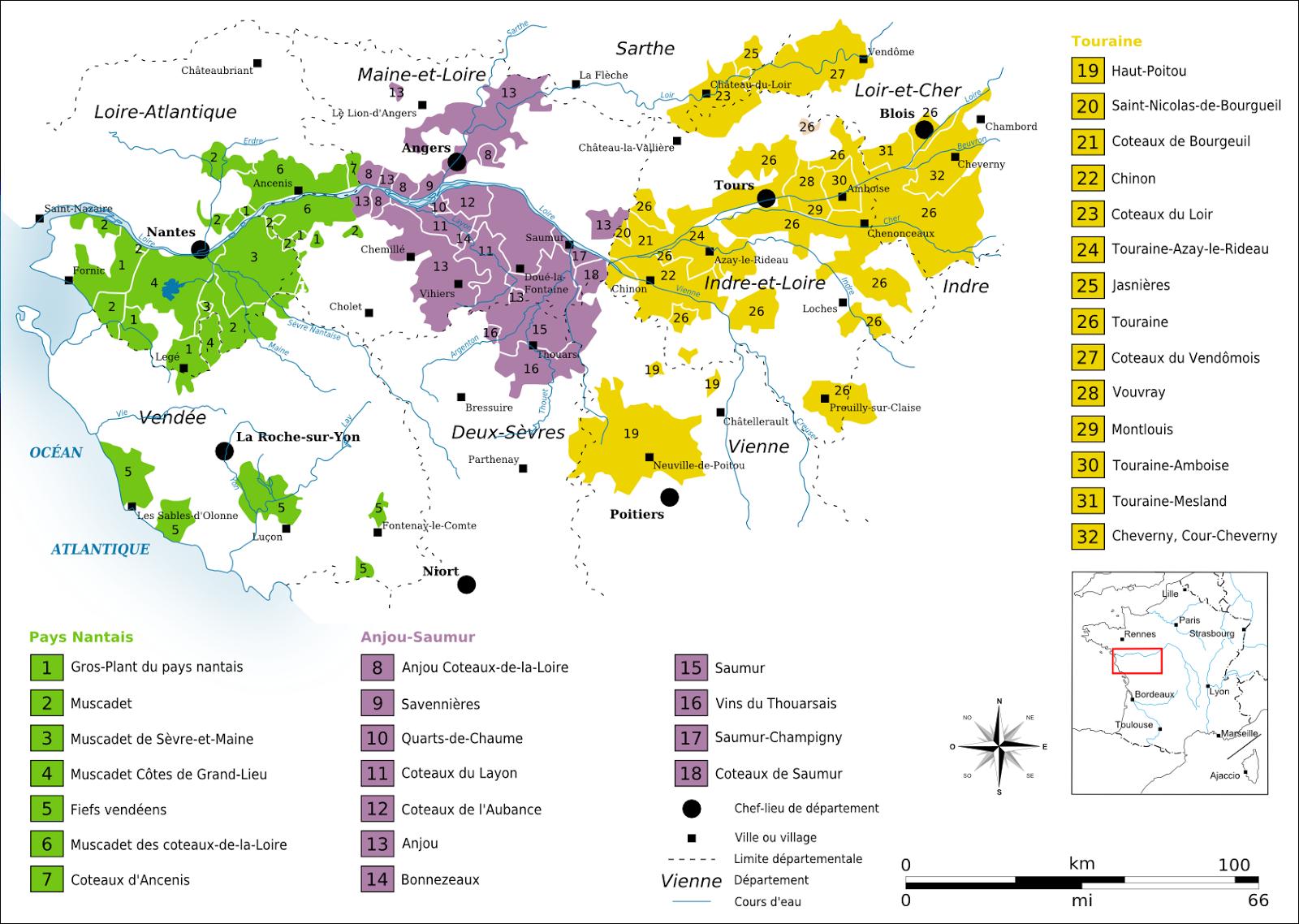 Apuntes Loira Vino De Francia Valle Del Loira Guía De Vinos