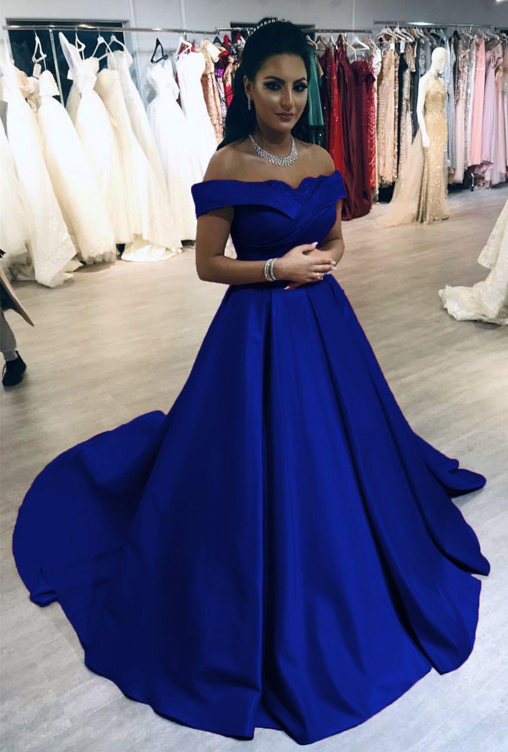 Park Art|My WordPress Blog_Royal Blue Quinceanera Dresses Off The Shoulder