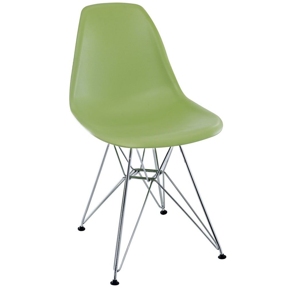 Eiffel Dining Side Chair in Green