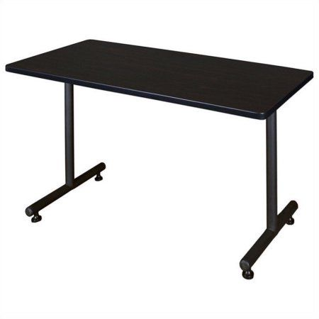 Regency Kobe 42 inch x 24 inch Training Table, Multiple Finishes, Brown