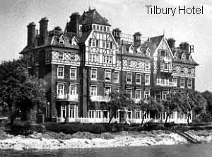 Tilbury Hotel, Tilbury Marine station