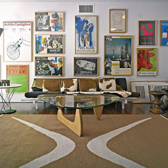 The Gallery Wall Of Designer Michael Boyd S Santa Monica Home