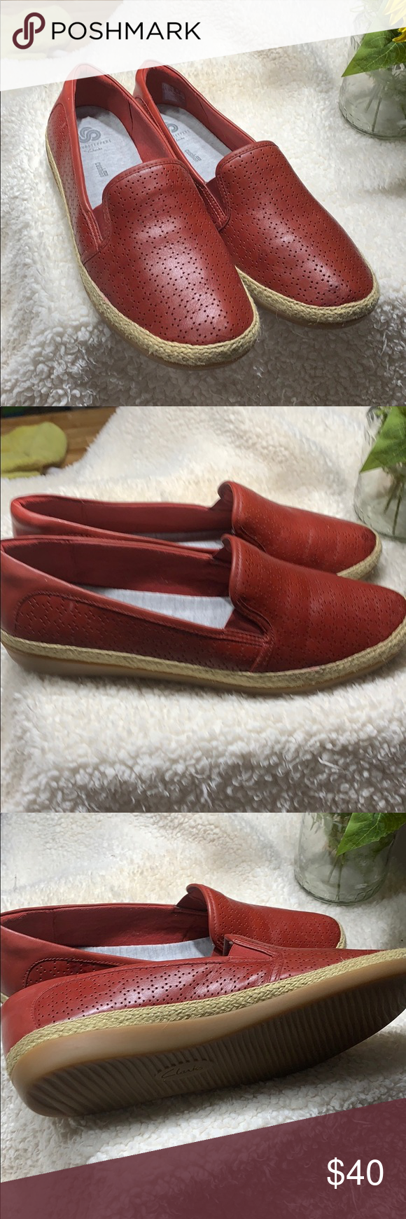 Clark's red loafers in 2020 | Red