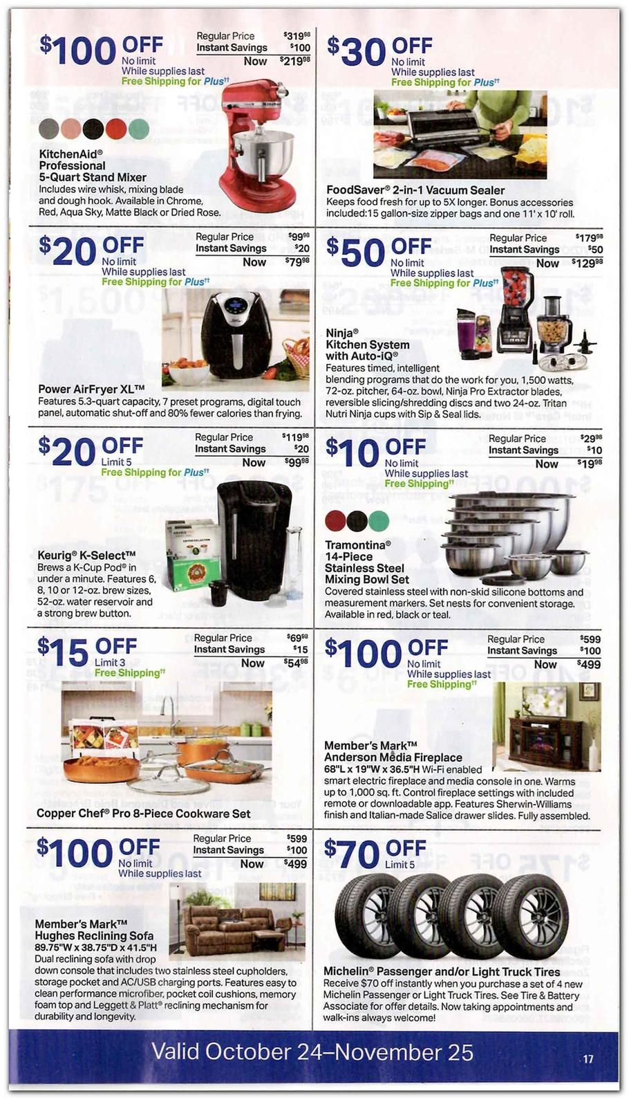Sam S Club Featured 2018 Ads And Deals Sams Club Ads Vacuum Sealer