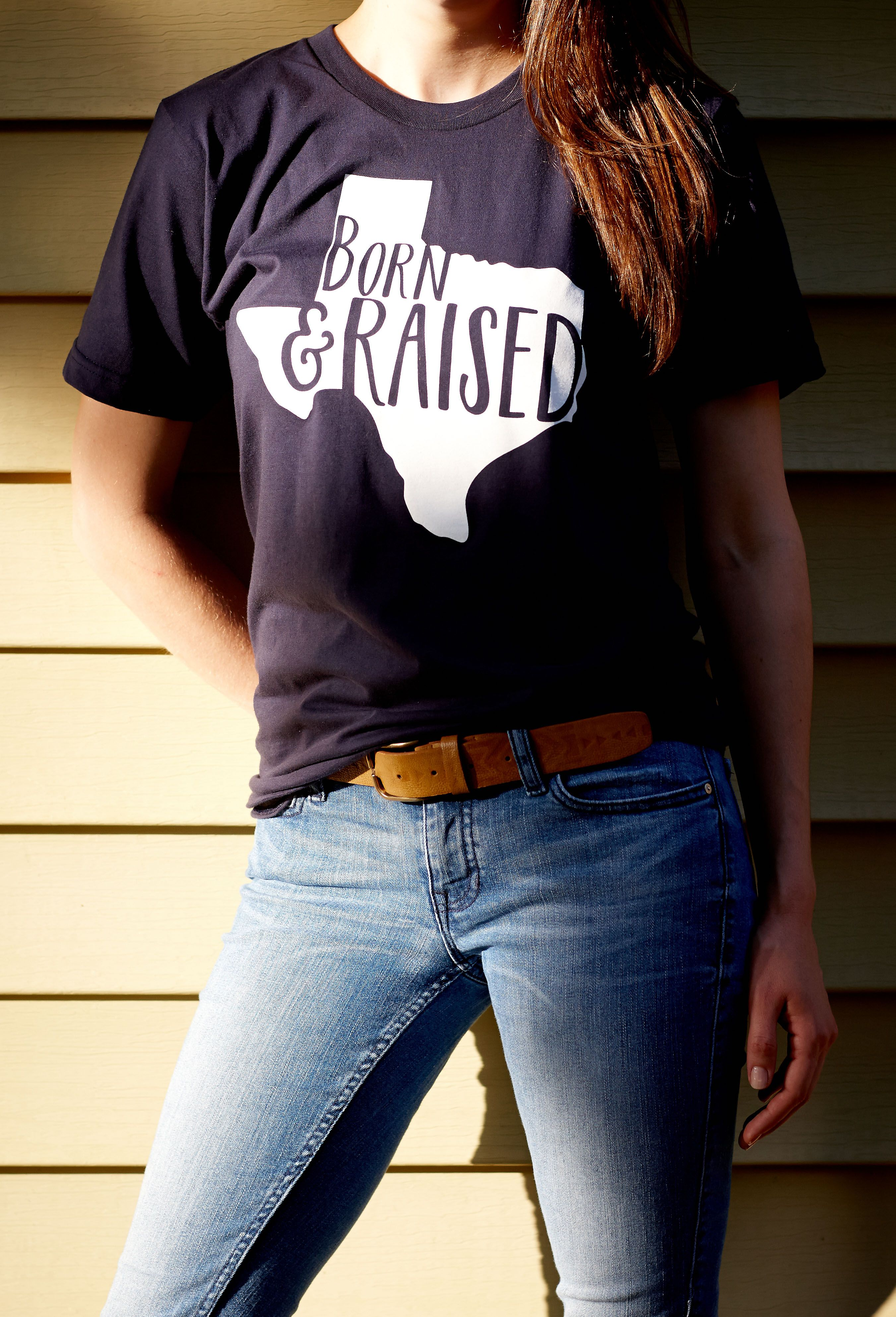 Shirt design mission tx - The Born And Raised In Texas T Shirt Is A Part Of The Texas Love