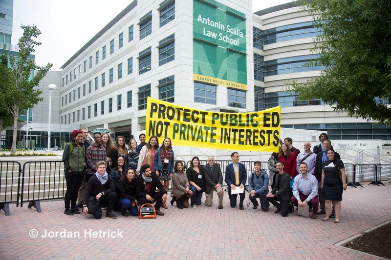 The Fight For Transparency At George Mason George Mason Law School Campus