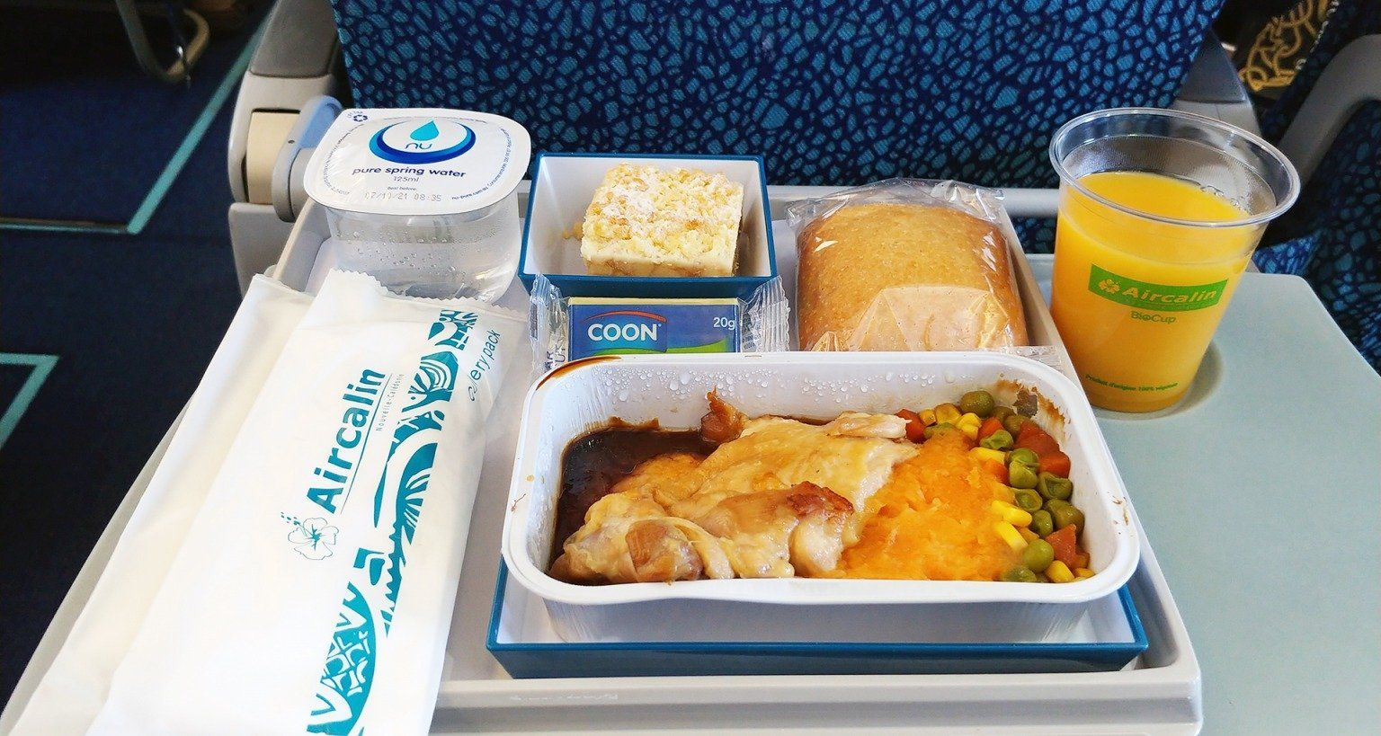 air dolomiti meals Inflight Food Airline meal review