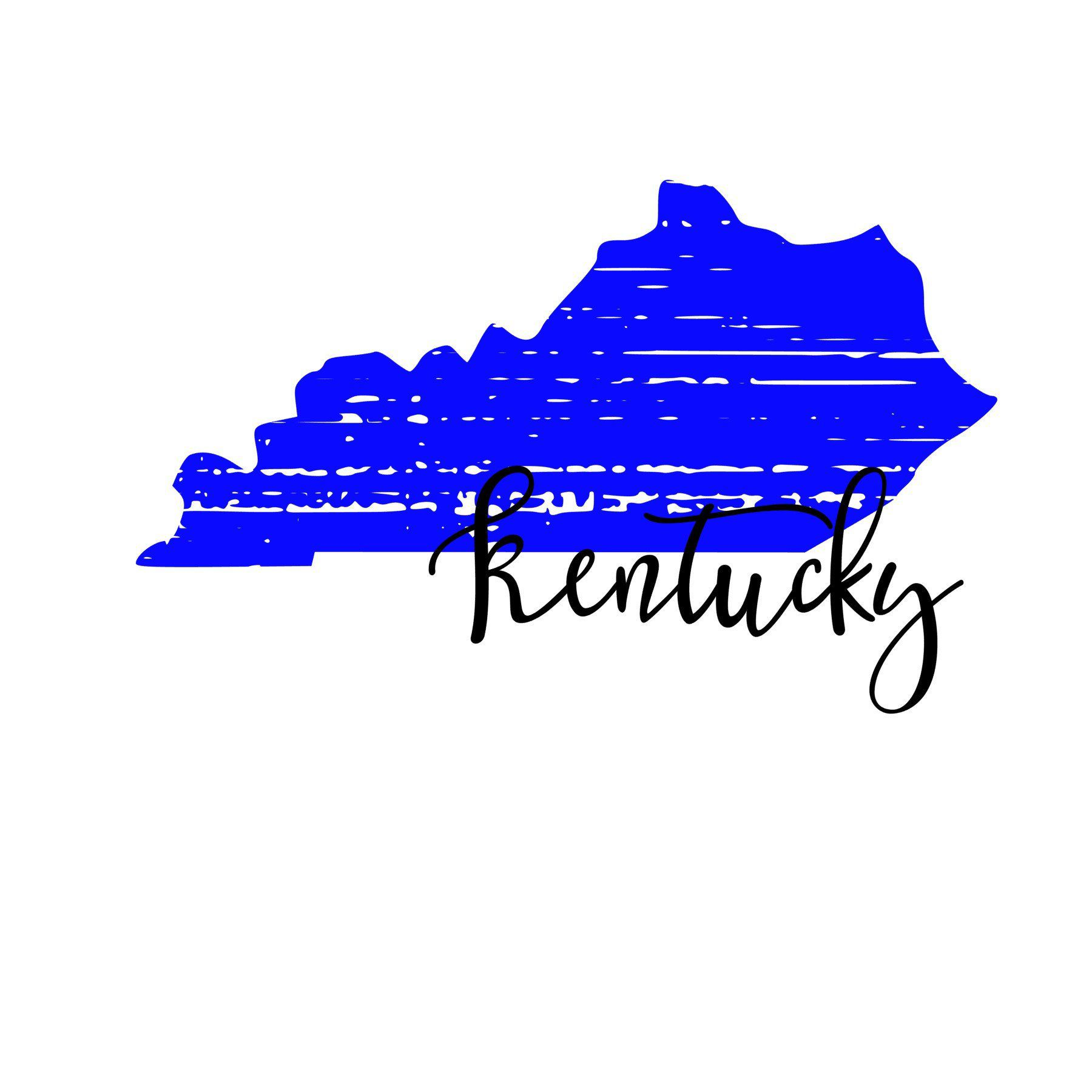 Distressed Kentucky State SVG Kentucky state, Kentucky, Svg