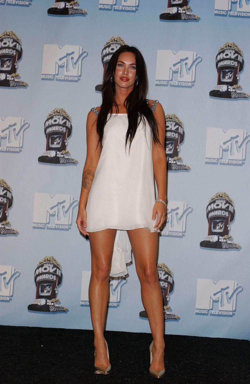 White dress beige heels