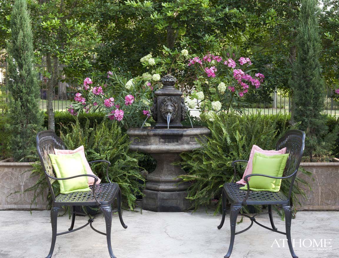 At Home Arkansas | In the Garden | Pinterest | Iron furniture ...