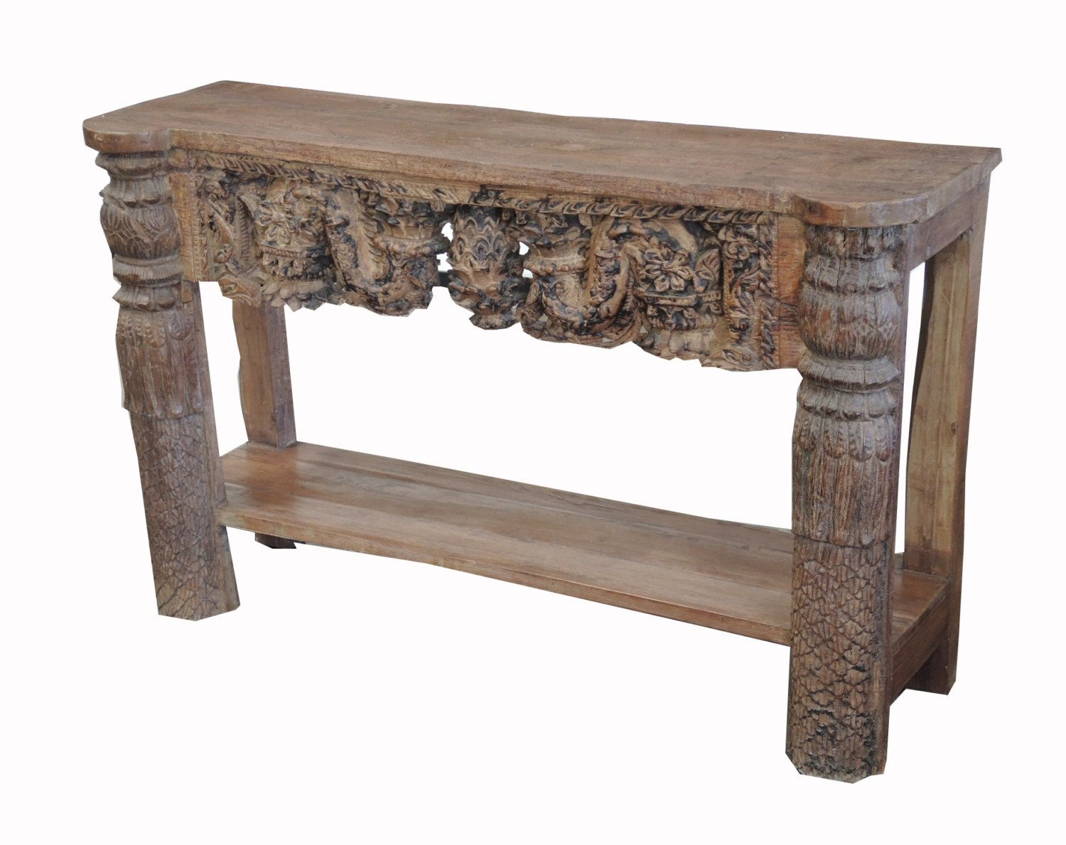 Antique Hand Carved Console From Terra Nova Furniture Los Angeles By  TerraNovaLA On Etsy