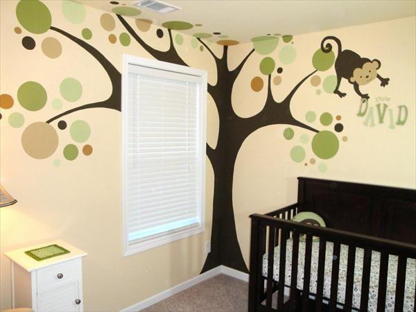 Monkey Nursery Ideas Baby Photos Unique