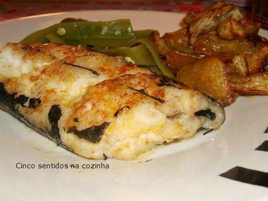peixe espada preto no forno