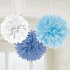 How to Make Tissue PomPoms Disney frozen birthday Disney frozen