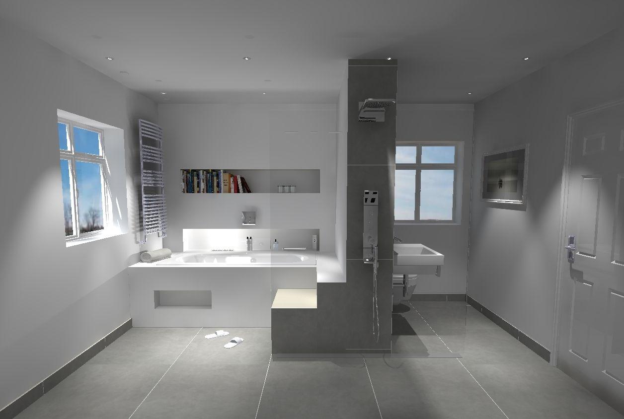 Corian Bath Surround And Wall Cladding Walk Through Wet Room Shower Www Ooshka Co Uk Fancy Bathroom Bathroom Design Luxury Elegant Bathroom