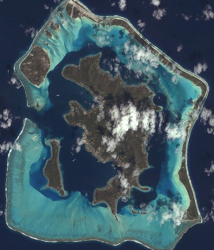 French Polynesia On World Map%0A Bora Bora is perhaps the closest we u    ll get to Heaven on Earth  Located  about     kilometers miles  northwest of Tahiti  Bora Bora is part of the  Society