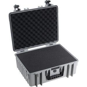 6000 Black case with pre-cut foam