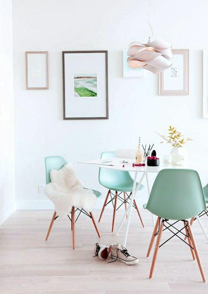 Etourdissant Chaise Plastique Et Bois