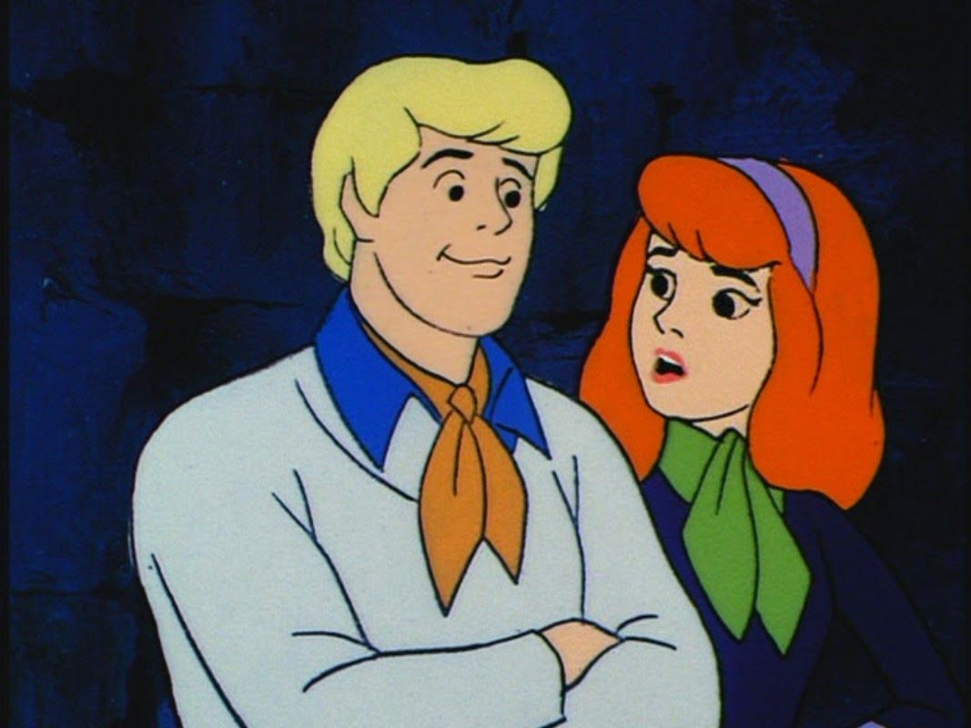 Fred and Daphne really knew how to wear scarves.