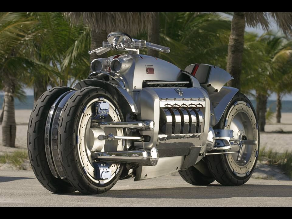 The Fastest Motorbike In The World The Dodge Tomahawk Can Reach