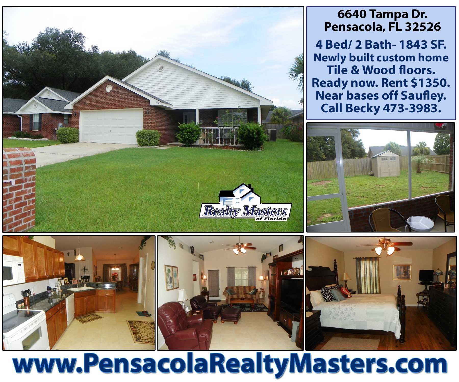 pin by pensacola realty masters on pensacola homes for rent rh pinterest com