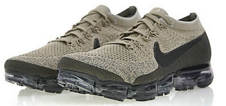 7f4dbf6a7e6 Nike Air Vapormax Flyknit Pudding Khaki Anthraciteblack 849558 201 Sneaker  Unisex Shoe