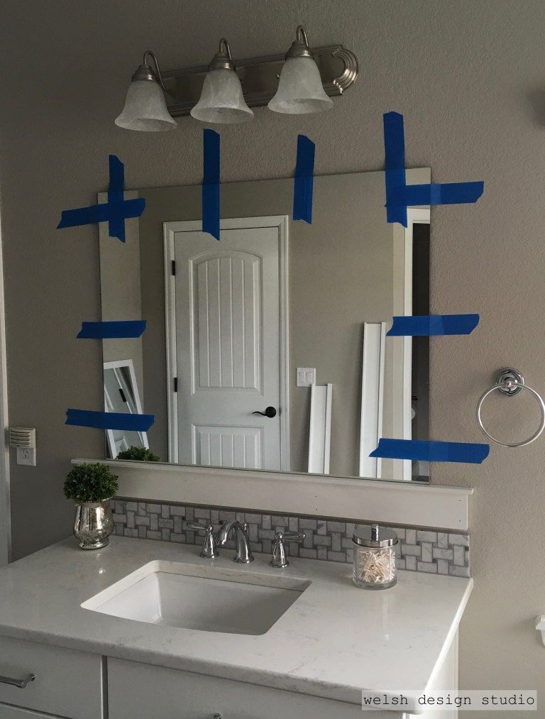 diy framed bathroom mirror renovating do it yourself pinterest rh in pinterest com