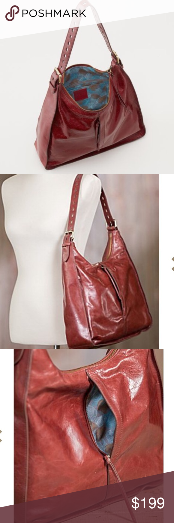 e9899fe8e HOBO Marley Bag in Mahogany Leather Gorgeous leather bag by HOBO  International. Buttery soft leather