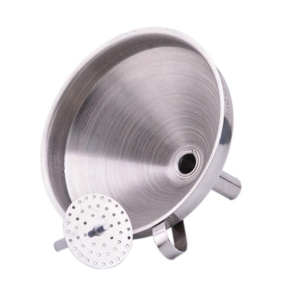 KCASA KC FS022 5 Inches Stainless Steel Funnel