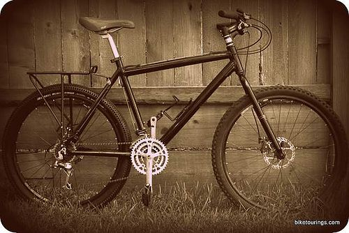 Nashbar Mountain Bike Frame And Kona Project 2 Fork Mountain