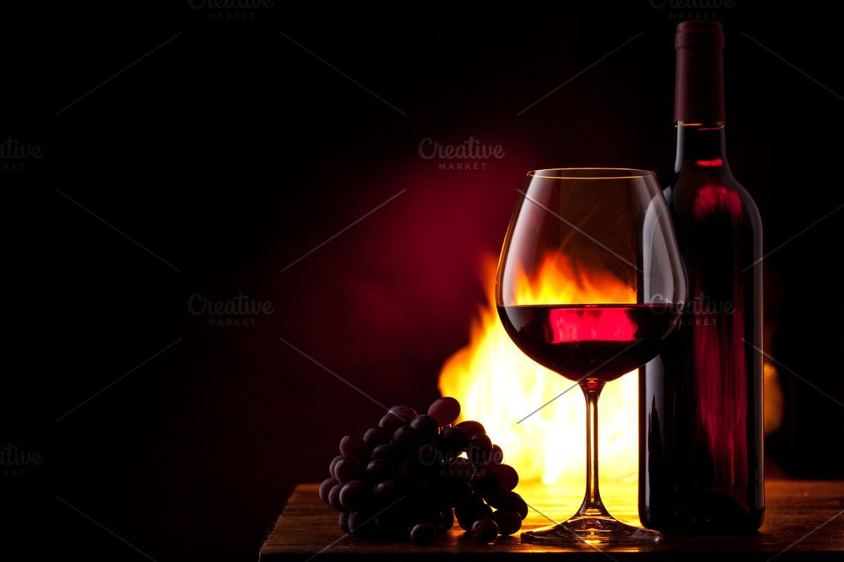 Wine Grapes And Fire In 2020 Wine Tshirt Design Inspiration Grapes