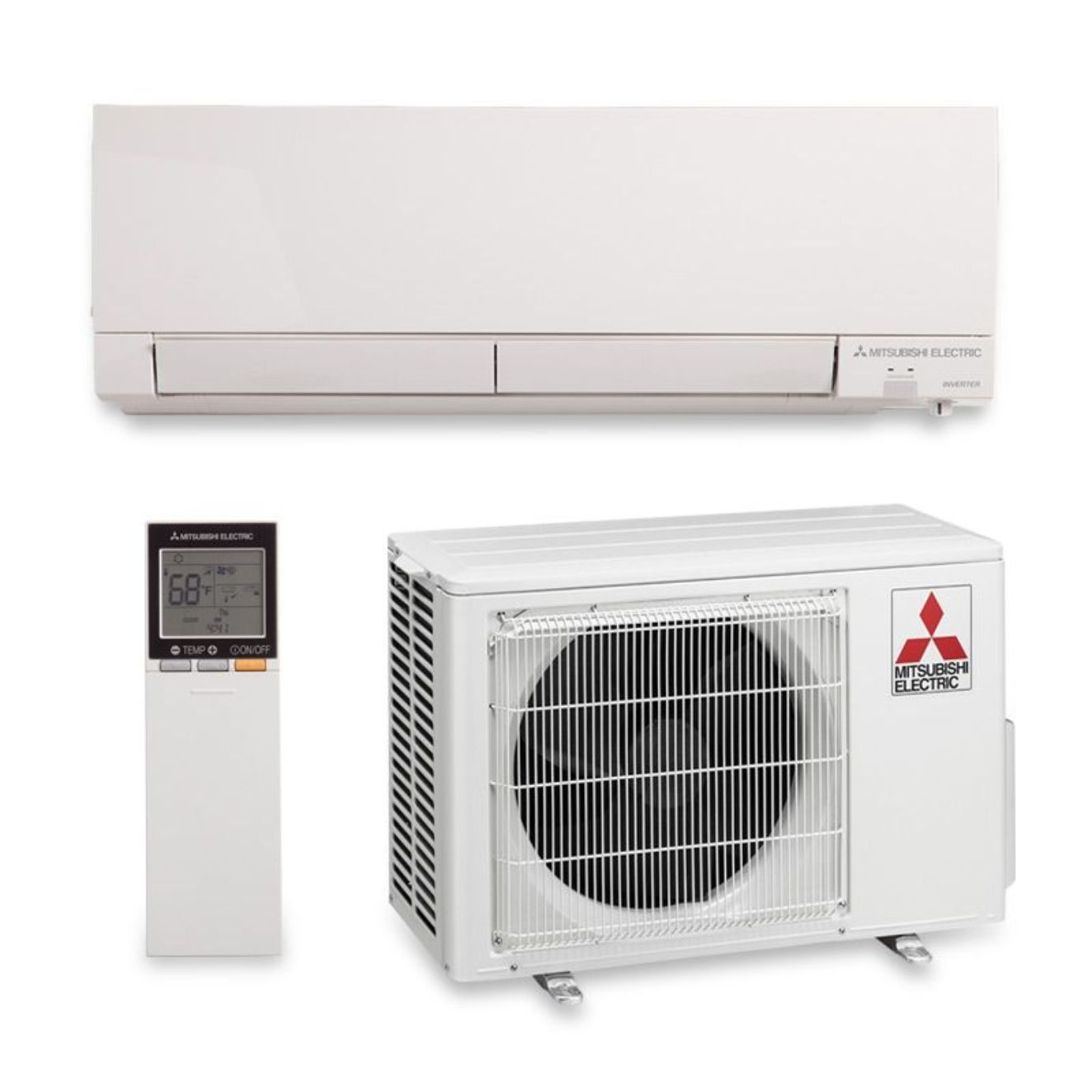 Perfect Solution For Hot Or Cold Rooms Rooms With Poor Air Flow Renovations And Remodeling Primary Living Areas Basements Heat Pump System Ductless Mini Split