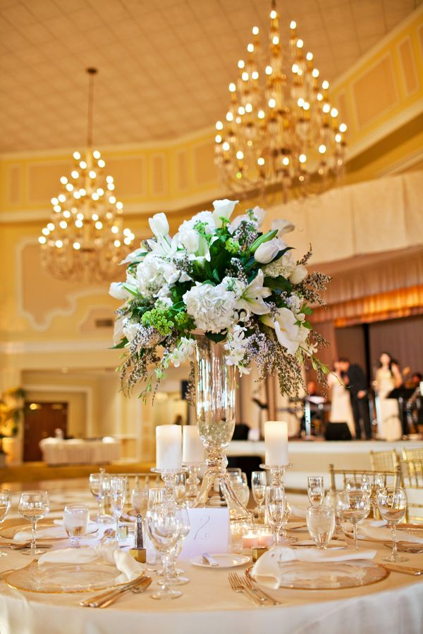wedding decoration ideas south africa%0A LargeTallWhiteFloralCenterpiece