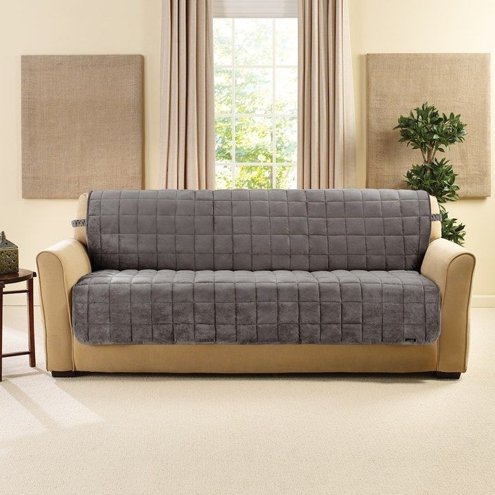 sure fit deluxe comfort armless sofa slipcover products sofa rh pinterest co uk