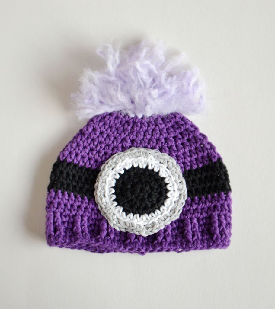 Croby patterns evil minion inspired crochet baby hat crochet croby patterns evil minion inspired crochet baby hat bankloansurffo Image collections
